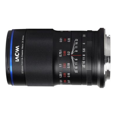 Laowa 65mm f/2.8 2x Ultra-Macro Canon EF-M-mount objectief