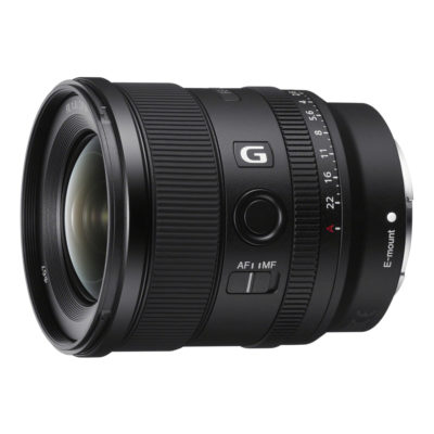 Sony FE 20mm f/1.8 G objectief (SEL20F18G.SYX)