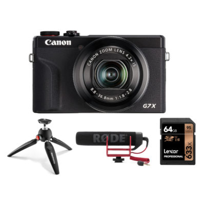 Canon PowerShot G7 X Mark III Streaming Kit
