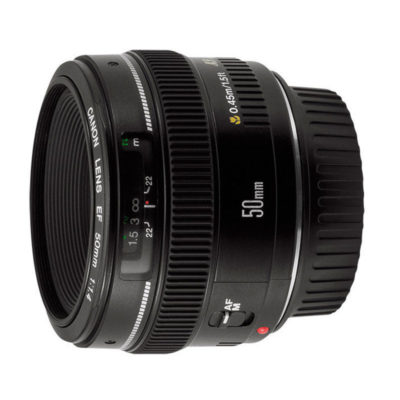 Canon EF 50mm f/1.4 USM objectief