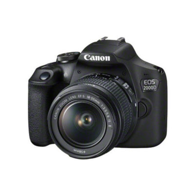 Canon EOS 2000D DSLR + 18-55mm IS II