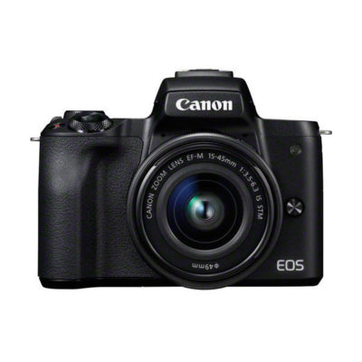 Canon EOS M50 systeemcamera Zwart + 15-45mm IS STM